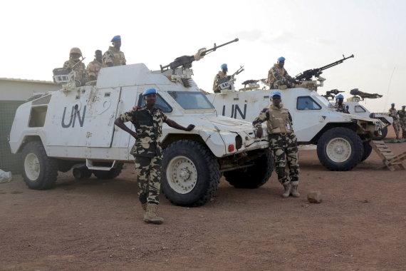 """""""Reuters""""/""""Scanpix"""" nuotr./Taikdarių pajėgos Malyje"""
