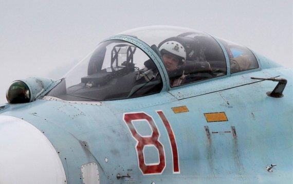 """""""Scanpix""""/ITAR-TASS nuotr./Rusijos naikintuvo lakūnas"""
