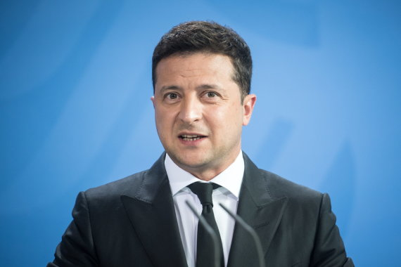 """Reuters""/""Scanpix"" nuotr./Volodymyras Zelenskis"