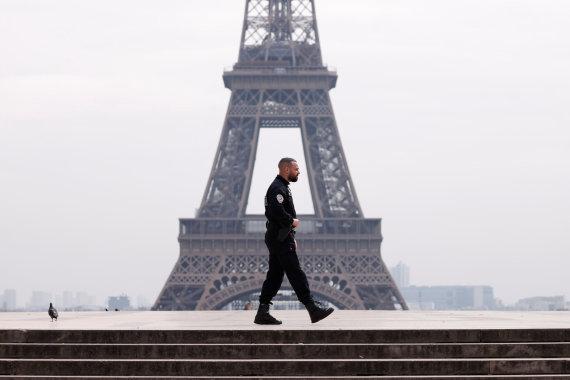 """Reuters""/""Scanpix"" nuotr./Karantinas Paryžiuje"