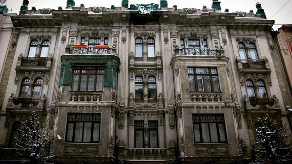 Indrės Bungardaitės/15min nuotr./Art nouveau architektūra Rygoje