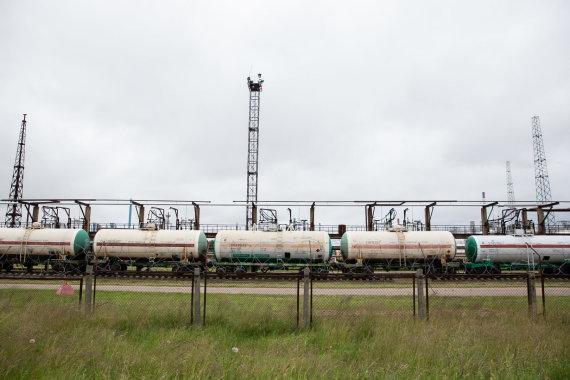 Žygimanto Gedvilos / 15min nuotr./Naftos cisternos