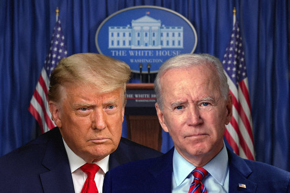 """""""Scanpix""""/AP ir 123RF nuotr./JAV prezidento rinkimai"""