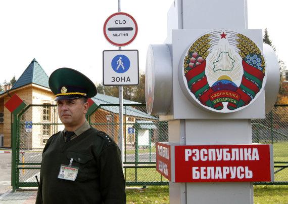 """Reuters""/""Scanpix"" nuotr./Baltarusijos siena"