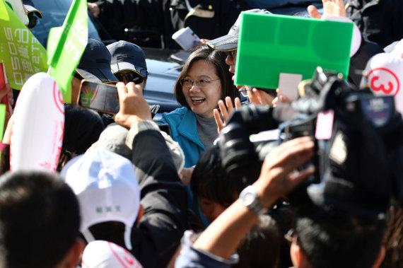 """AFP/""""Scanpix"""" nuotr./Tsai Ing-wen"""