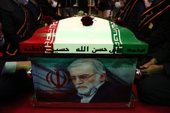 ZUMAPRESS.com/Mohseno Fakhrizadeh laidotuvės