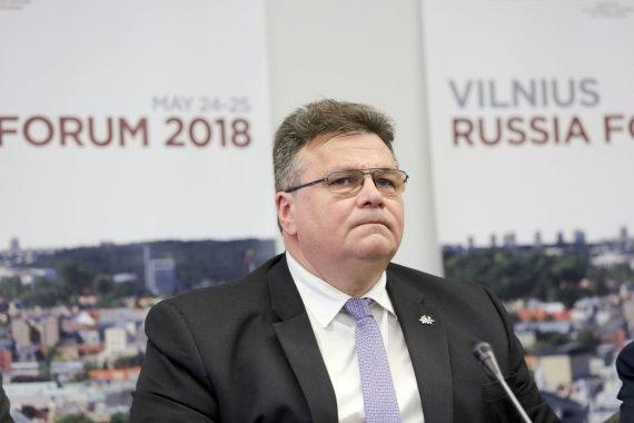 Valdo Kopūsto / 15min nuotr./Linas Linkevičius