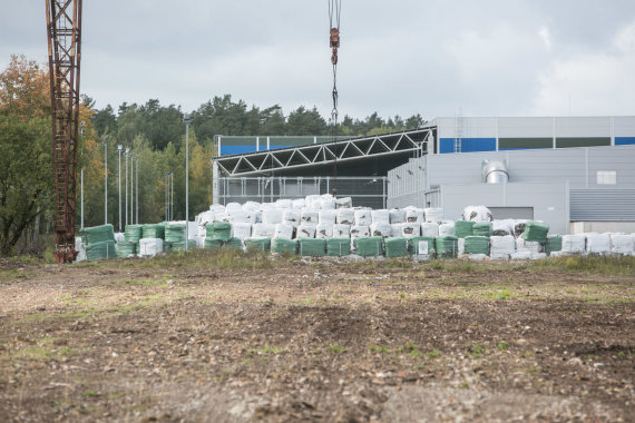 Juliaus Kalinsko / 15min nuotr./Vilniaus kogeneracinės jėgainės statybų pradžios ceremonija