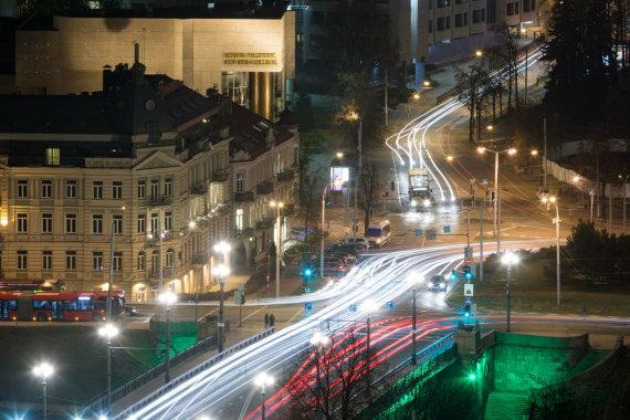 Vilniaus miesto savivaldybės nuotr./Eismas Vilniuje