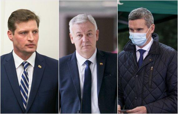 15min koliažas/Kęstutis Mažeika, Ričardas Juška, Justinas Urbanavičius