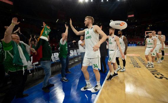 "Getty Images/ Euroleague nuotr./Eurolyga: ""Baskonia"" – ""Žalgiris"""