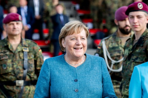 "AFP/ ""Scanpix"" nuotr./Angela Merkel"
