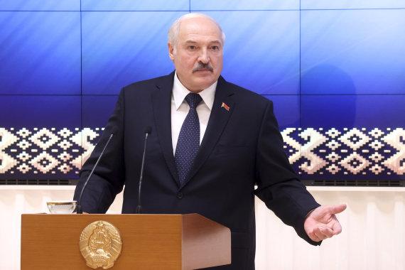 "AP/""Scanpix"" nuotr./Aliaksandras Lukašenka"