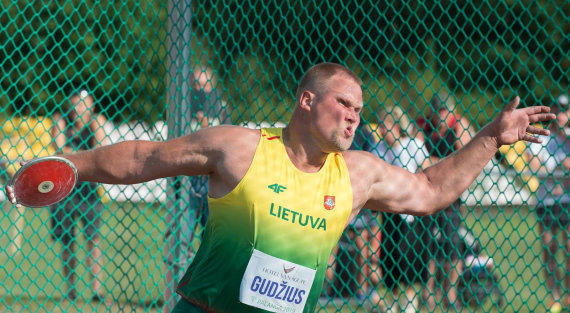 Alfredo Pliadžio nuotr./Andrius Gudžius padėjo laimėti Algredui Pliadžiui antrą vietą.