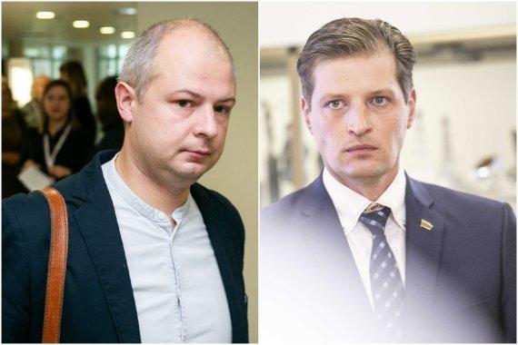 15min nuotr./Simonas Gentvilas ir Kęstutis Mažeika