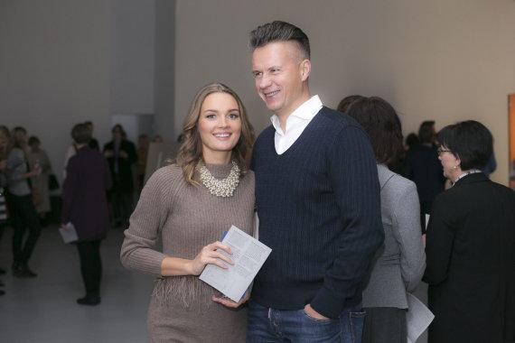 Irmanto Gelūno / 15min nuotr./Jurgita Jurkutė su vyru Ryčiu