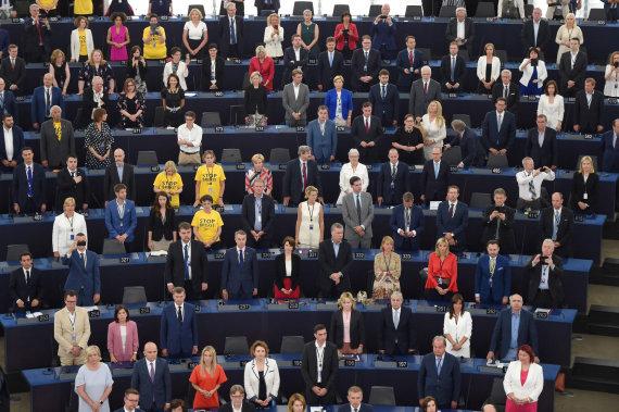 """AFP/""""Scanpix"""" nuotr./Naujai išrinktas Europos Parlamentas pradeda dirbti"""