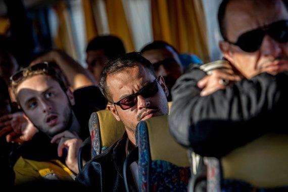 Vidmanto Balkūno/15min.lt nuotr./Graco pabėgėlių stovykla Austrijoje