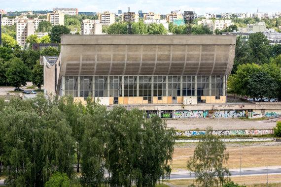Vidmanto Balkūno / 15min nuotr./Vilniaus sporto rūmai