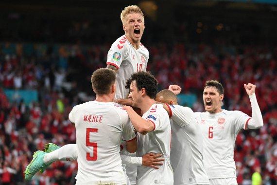 """""""Scanpix"""" nuotr./""""Euro 2020"""": Rusija – Danija"""