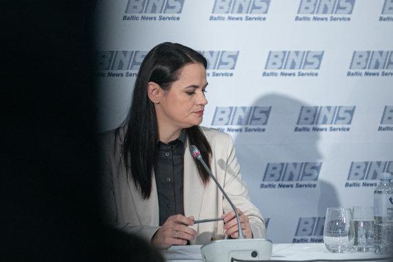 Juliaus Kalinsko / 15min nuotr./Sviatlana Cichanouskaja
