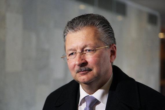 """Juliaus Kalinsko / 15min nuotr./ """"Vilkyškių pieninė"""" generalinis direktorius Gintaras Bertašius"""