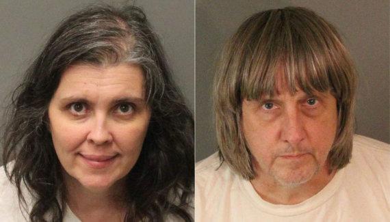 """AFP/""""Scanpix"""" nuotr./Louise Anna Turpin ir Davidas Allenas Turpinas"""