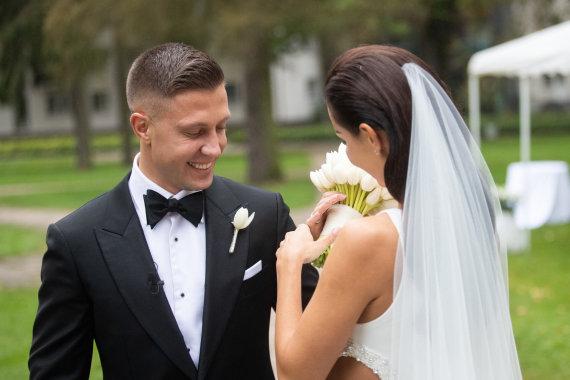 Gretos Skaraitienės / 15min nuotr./Indrės Burlinskaitės ir Liudo Vaisietos vestuvės