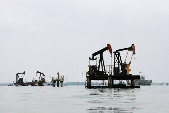 """""""Reuters""""/""""Scanpix"""" nuotr./Naftos gavyba Venesueloje"""