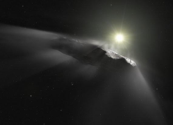 "AFP/""Scanpix"" nuotr./Tarpžvaigždinis objektas Oumuamua"
