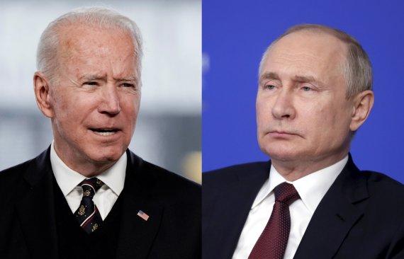 Scanpix / Reuters / ITAR-TASS photo / 15min collage / Joe Biden, Vladimir Poutine