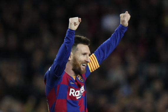 """""""Scanpix""""/AP nuotr./Lionelis Messi"""