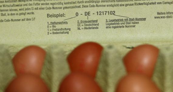 """""""Reuters""""/""""Scanpix"""" nuotr./Plečiantis skandalui dėl insekticido, naikinami milijonai olandiškų kiaušinių"""
