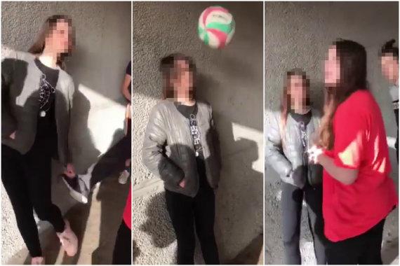 15min skaitytojo nuotr./Kaune grupelė paauglių tyčiojosi ir smurtavo prieš paauglę