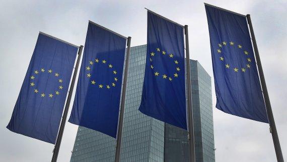"""AFP/""""Scanpix"""" nuotr./ES vėliavos"""