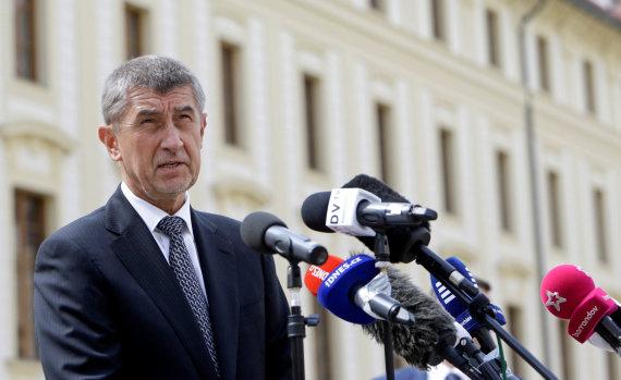 """""""Reuters""""/""""Scanpix"""" nuotr./Čekijos milijardierius Andrejus Babišas"""