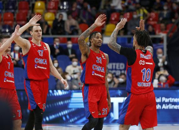 Euroleague.net/Maskvos CSKA – pirmoji Eurolygos finalo ketverto dalyvė