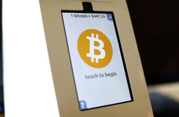"""Reuters""/""Scanpix"" nuotr./Bitkoinų bankomatas JAV, San Diege"