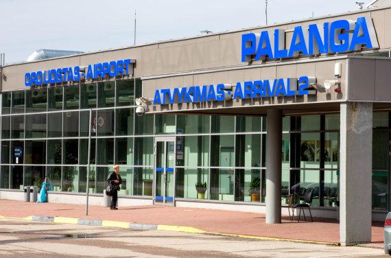 Vidmanto Balkūno/15min.lt nuotr./Palangos oro uostas