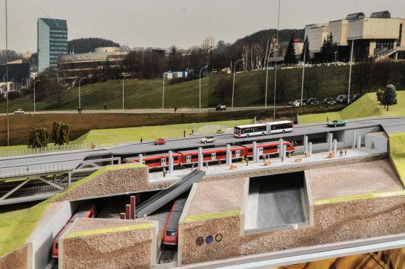 Vilniaus metro vizualizacija