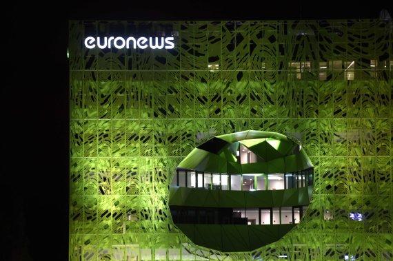 "AFP/""Scanpix"" nuotr./""Euronews"" būstinė Lione"