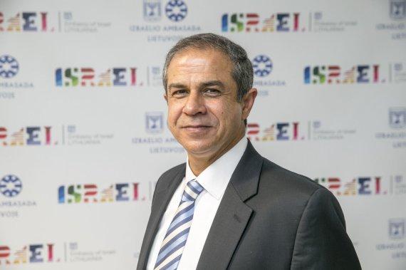Asmeninės nuotr./Izraelio ambasadorius Lietuvoje Amiras Maimonas