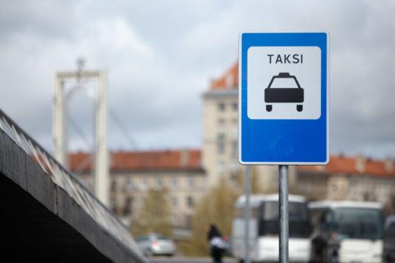 Eriko Ovčarenko / 15min nuotr./Taksi sustojimas