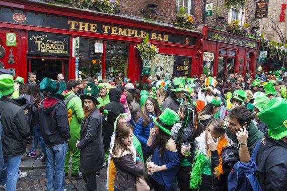 123rf.com nuotr./Šv. Patriko diena Airijoje, Dubline