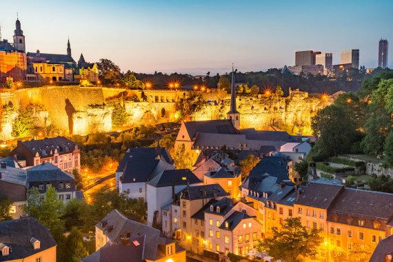 123rf.com/Vakarinė Liuksemburgo panorama