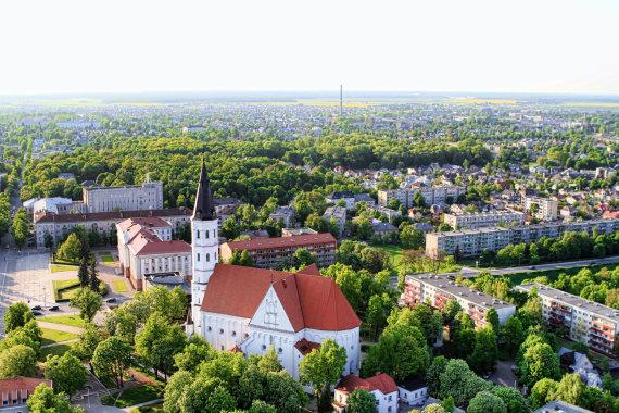 Šiaulių turizmo informacijos centro nuotr./Šiaulių katedra