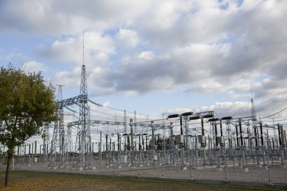 "Luko Balandžio / 15min nuotr./""Nordbalt"" elektros jungtis"