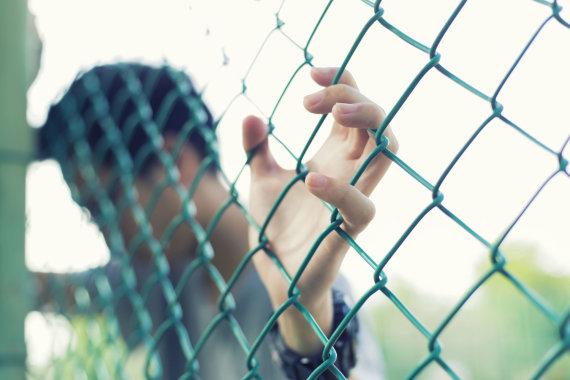 123rf.com nuotr./Įkalintasis