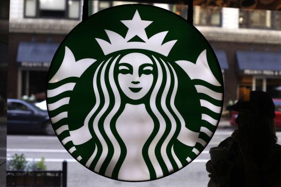 """""""Scanpix""""/AP nuotr./""""Starbucks"""" kavinė"""