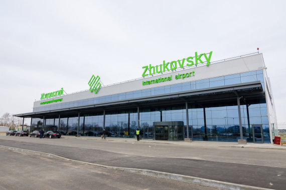 Scanpix/Sputnik nuotr./Žukovskio oro uostas